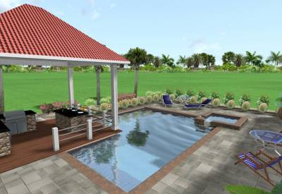 Four Seasons Landscape Designs - Florida Landscape, Pools, Decks & Hot Tubs Image