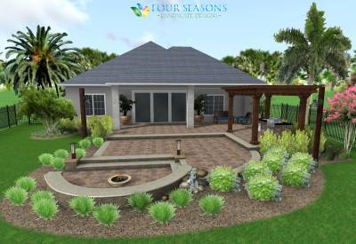 Four Seasons Landscape Designs - Florida Landscape Image